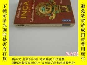 二手書博民逛書店法文原版罕見Inca, tome 3 : La Lumière du Machu Picchu B. Daniel