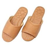 經典減壓乳膠皮拖鞋-棕XL