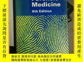 二手書博民逛書店英文書罕見forensic medicine 8th edition 法醫學第8版Y16354 詳情見圖片 詳