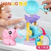 女孩男孩沙灘浴室小孩大象洗澡戲水兒童童花灑泳池玩具
