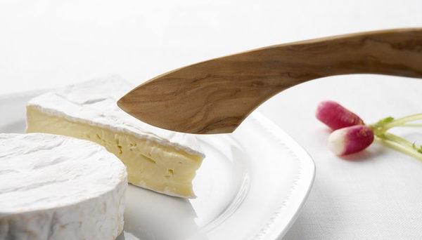 Scanwood 橄欖木 起士刀 乳酪切片刀