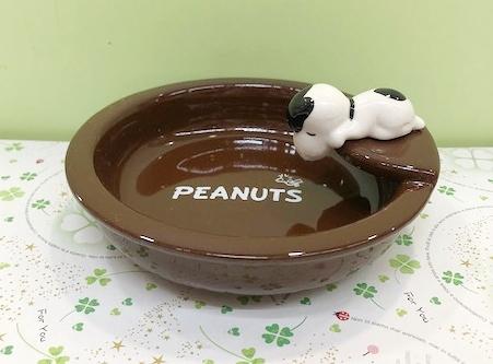 【震撼精品百貨】史奴比Peanuts Snoopy ~SNOOPY杯緣碗-棕#84971