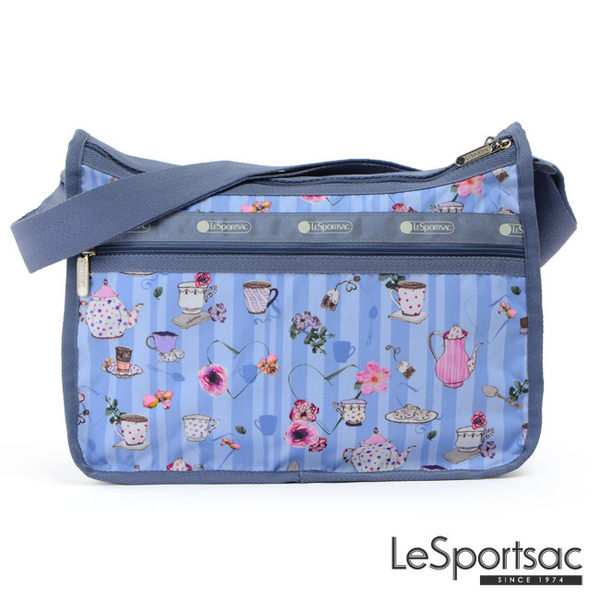LeSportsac - Standard雙口袋A4大書包-附化妝包 (午茶時光) 7507P F105