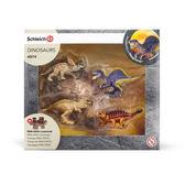 Schleich 史萊奇動物模型迷你恐龍組A_SH42212