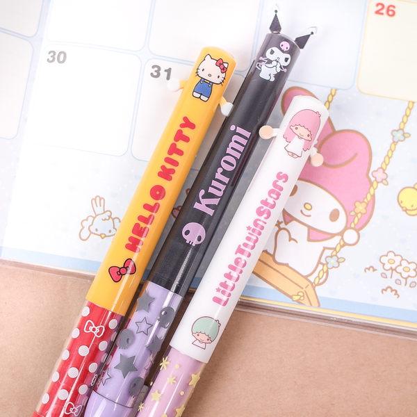 PGS7 日本三麗鷗系列商品 - 三麗鷗 Sanrio 系列 雙色 原子筆 Kitty 美樂蒂 雙子星 蛋黃哥【SHJ6409】