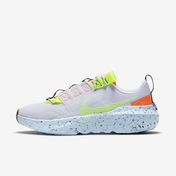 Nike Wmns Crater Impact [CW2386-002] 女鞋 運動 休閒 輕量 經典 穿搭 灰 螢黃