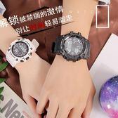 時尚潮流女手錶防水鬧鐘運動手錶學生男孩電子錶小清新簡約學院風