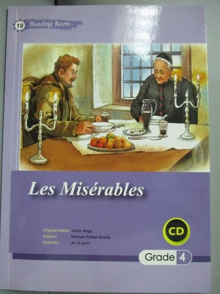 【書寶二手書T6/原文小說_KFH】Les Misérables_附光碟_Original Author:Victor