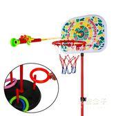 籃球架 籃球 多功能寶寶投拍拍小皮球充氣可升降籃球架 兒童球類玩具 2 3 4歲 秘密盒子igo
