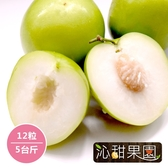 沁甜果園SSN.高雄蜜棗(12粒/5台斤)﹍愛食網