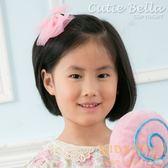 Cutie Bella星星雪紡大蝴蝶結全包布手工髮夾-Lace Star Bow-Smitten