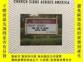 二手書博民逛書店church罕見signs across americaY266