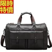 行李袋-肩背韓版超大容量時尚大氣多口袋男手提包66b49【巴黎精品】