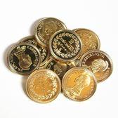 牙仙子送孩子的禮物寶藏金屬金幣玩具游戲錢幣兒童過家家獎勵獎品