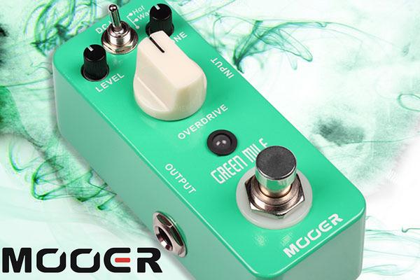 小叮噹的店 - MOOER 破音單塊 Green Mile (MREG-GM) 效果器