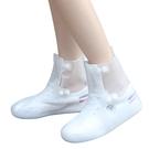 雨鞋女士韓國時尚透明可愛雨靴雪天防滑中短筒成人兒童雨鞋套男女 滿天星