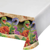 塑膠桌巾-恐龍世界
