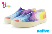 native MILLER 米勒鞋 水鞋 洞洞鞋 彩虹浪潮 中小童  洞洞鞋 K9448#配色◆OSOME奧森童鞋