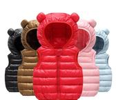 兒童馬甲 馬甲羽絨棉秋冬裝坎肩輕薄款夾克背心男女兒童洋氣外套