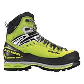 Lowa Mt Expert Gore-Tex Evo 男款冰雪攀登硬底鞋 萊姆綠