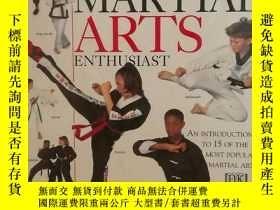 二手書博民逛書店DK圖解武術罕見The Young Martial Arts E