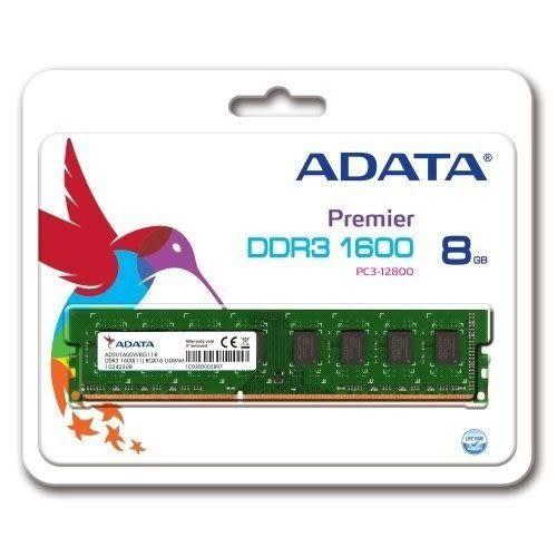 全新 威剛 A-DATA  8GB DDR3 1600 桌上型記憶體