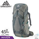 【GREGORY 美國 女 45L MAVEN登山背包S/M《氦灰綠》】126837/專業健行背包/後背包/旅遊