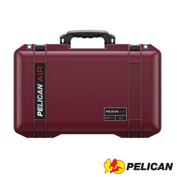 美國 PELICAN 1535TRVL Air Travel Case 輪座拉桿超輕氣密箱-(紅) 公司貨