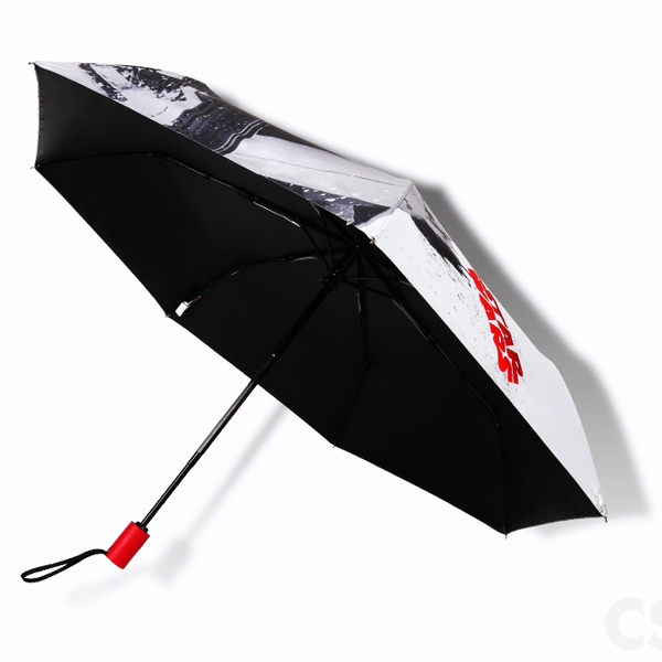 【Disney x StarWars】星際大戰系列_抗UV自動傘-黑膠遮光傘/晴雨傘-洋傘防曬傘三折傘折疊傘折傘
