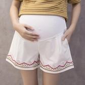 全館83折孕婦褲夏季薄款純棉孕婦短褲女夏裝外穿托腹褲寬鬆打底褲闊腿褲子