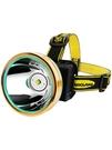 LED頭燈疝氣燈強光手電筒充電超亮戶外頭戴式夜釣釣魚感應燈礦燈 限時85折