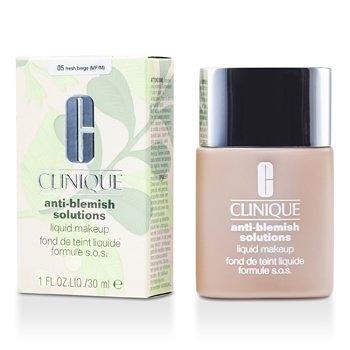 SW Clinique倩碧-126 無油光淨痘粉底 Anti Blemish Solutions Liquid Makeup - # 04 Fresh Vanilla