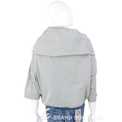 KENZO-antonio marras 灰綠色大翻領拉鍊外套 0910182-08