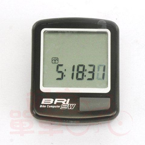 *阿亮單車* ECHOWELL 9功能無線碼表NEW BRI-9W(黑、銀兩色可選)《B33-580》