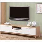 【森可家居】金詩涵6尺電視櫃 7ZX367-4 長櫃 木紋質感 無印風 北歐風