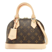 LOUIS VUITTON LV 路易威登 原花手提肩背2way迷你艾瑪包 Alma BB M53152【BRAND OFF】