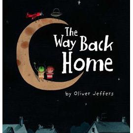 【麥克書店】WAY BACK HOME /英文繪本附CD /新銳作家:Oliver Jeffers (奧立佛.傑法)