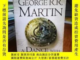 二手書博民逛書店A罕見Dance with Dragons: A Song of