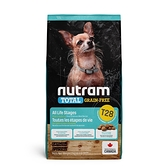 寵物家族-[輸入NT99享9折][效期20210903]紐頓Nutram-T28無穀迷你犬鮭魚5.4KG