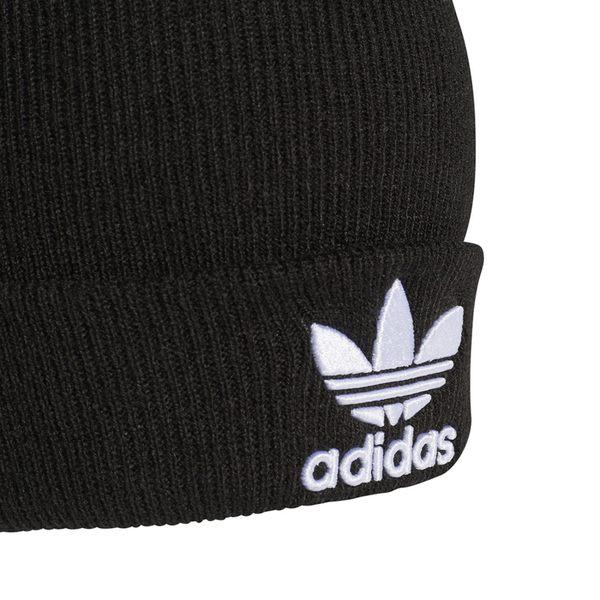 ... IMPACT Adidas Trefoil Beanie Fur Cap 毛帽黑三葉草男女百搭BK7634 ... bbfb9e2f6b1b