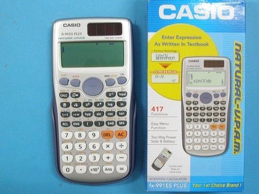 CASIO卡西歐FX-991ES PLUS 取代 FX-991ES工程型計算機~新機型/一台入{定999}