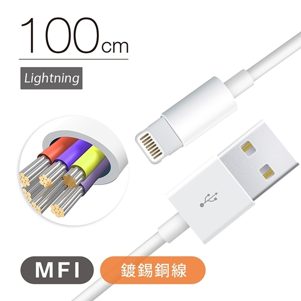 ZMI 紫米 MFI蘋果認證 Apple 傳輸充電線 AL812 100cm 2.4A 小米 iPhone X iPhone 8 Plus iPhoneX i8 ix