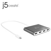 j5 JCA366 USB-C to 4-Port HDMI 多螢幕外接顯示卡