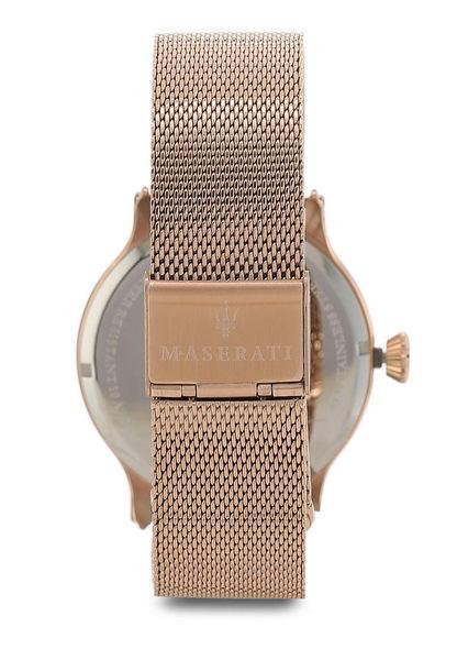 ★MASERATI WATCH★-瑪莎拉蒂手錶-EPOCA系列-簡約鋼鍊款-R8853118004-錶現精品公司-原廠正貨-