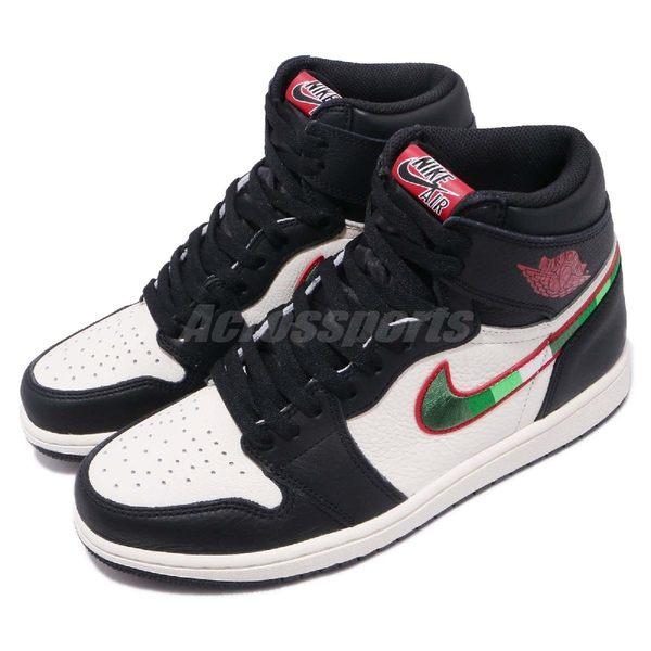 uk availability 2432c a3031 Nike Air Jordan 1 Retro High OG A Star Is Born 天生巨星黑紅白皮革
