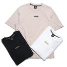 KANGOL 短袖 短T 三色 刺繡LOGO 方標 袋鼠 棉 休閒 男女 (布魯克林) 61251012-