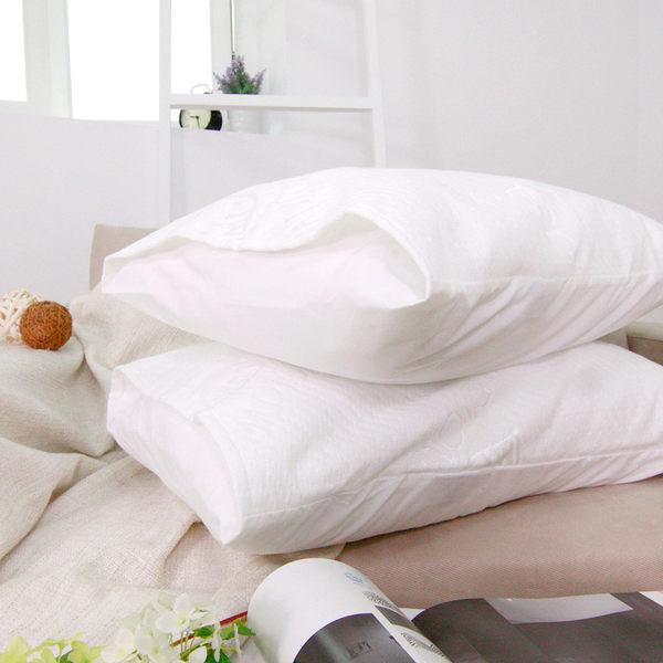 防水保潔枕墊 枕頭專用保潔枕墊2入[鴻宇]台灣製