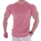 男生短袖T恤 肌肉健身狗運動t恤 新款緊身衣男兄弟高彈跑步訓練速干衣休閒短袖 快速出貨