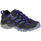 新款 MERRELL 女款 MOAB2 GTX 防水透氣 登山健行鞋/登山鞋/低筒登山鞋 12134 深藍