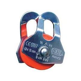 【山水網路商城】法國 PETZL P02 OSCILLANTE 緊急用擺動側板式滑輪